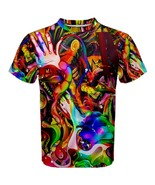 Mens Hipster Hip Hop Abstract Hippie Trippy Sub... - $19.50 - $26.99
