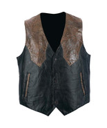 Giovanni Navarre Western Mens Genuine Leather V... - $17.99