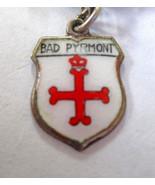 Vintage REU 800 Silver & enamel Bad Pyrmont, Ge... - $8.90