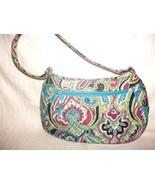 Vera Bradley Zoe Silk Paisley Limited Edition H... - $16.81