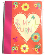 80pg. Ruled My Journal/Heart Sheet Writer's Jou... - $7.97