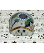 Tonala Erandi Mexico Pottery Hand Painted Turtl... - $27.97