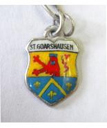 Vintage 800 Silver & enamel St. Goarshausen, Ge... - $8.90