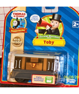 Thomas & Friends wooden Talking railway Toby LC... - $39.99