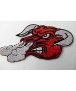 SNORTING BULL NOVELTY EMBROIDERED PATCH 5 x 2.5... - $4.69