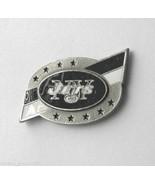 NEW YORK JETS NFL FOOTBALL LOGO LAPEL PIN BADGE... - $5.88