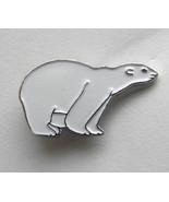ARCTIC WHITE POLAR BEAR WILDLIFE ANIMAL LAPEL P... - $4.46