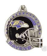 NFL FOOTBALL BALTIMORE RAVENS PEWTER KEY RING K... - $7.67