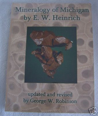 Miineralogy Michigan MI Minerals E W Heinrich Book BJs