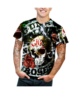 Guns N Roses Music Rock Metal Mens Hipster trip... - $19.50 - $26.99