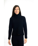 S Banana Replublic 100% Wool Black Turtle Neck ... - $58.41