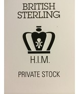 British Sterling H.I.M. HIM Private Stock 3.8 F... - $18.00