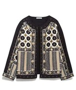 ZARA EMBROIDERED JACKET BLAZER Size S BNWT - $109.00