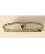 Vintage Silver Tone and Rhinestone with Mother ... - $7.50