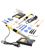TOMIZAWA Soldering Iron Station 18-piece Kit 11... - $15.99
