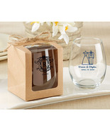 Kraft Stemless Wine Glass Gift Box (Set of 12) - $8.96
