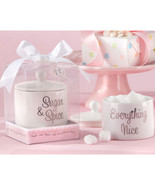 Ceramic Sugar Bowl Favors - $3.27
