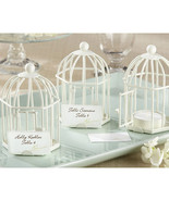 Birdcage Tealight IVORY Place Card Holder - $3.74