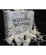 72 Wedding Theme Confetti Wedding Poppers - $34.44