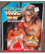 Vintage 1990 Hasbro WWF Ultimate Warrior Wrestl... - $99.99
