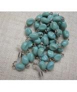 sunglasses holder chain New Turquoise Stone Cor... - $7.95