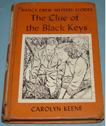 Nancy Drew #28 Clue of Black Keys Lib Ed - $9.99