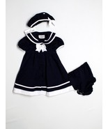New Girl Rare Editions Easter Blue Sailor Dress... - $34.64