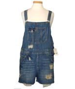 Lucky Brand Womens Overalls Jeans Shortalls Des... - $68.31
