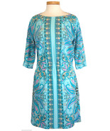 Michael Kors Womens Dress Georgette Paisley Pri... - $66.83
