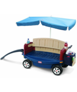 Kids Beach Covered Wagon Outdoor Sun Umbrella C... - $164.95
