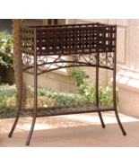 Outdoor Metal Plant Flower Container Stand Rais... - $161.95