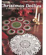 Christmas Doilies Crochet Patterns Doily Bell W... - $4.99