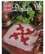 Quilt Block Doilies Crochet Patterns Annie's At... - $5.99