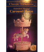 CAROUSEL HORSE ANIMATED BY CLASSIC TREASURES - $15.00