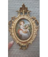 Old Vintage Pictorial Wall Picture Hanging Vict... - $39.99