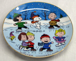 Danbury Mint Peanuts Magical Moment Winter Wond... - $54.40