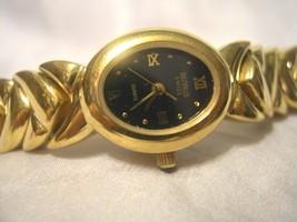 BENRUS - Ladies Black Faced Watch - Unique Link... - $39.59