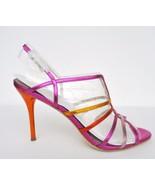 NIB Carolinna Espinoza Perna Heels Sandals Wome... - $118.75