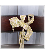 Green Scroll Pattern Headband with Cream Backgr... - $9.98