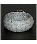 64mm Silver Winter Metallic Fabric Bangle with ... - $9.98