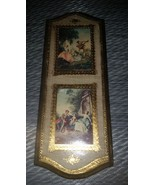 Old Vintage Pictorial Wall Picture Hanging Vict... - $29.99