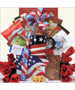 Enduring Freedom: Patriotic Red White Blue Gift... - $77.59
