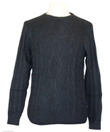 Nautica Mens Sweater Fishermans Cable Knit Crew... - $47.52