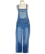Guess Jeans Womens Overalls Stretch Denim Tuxed... - $95.04