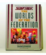 Star Trek The Worlds of the Federation Shane Jo... - $16.95