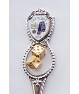 Collector Souvenir Spoon USA Nevada Las Vegas C... - $9.98