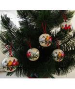 Ornaments, B. Shackman Reproduction Victorian W... - $11.00