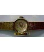 Swiss Saxony Luxury Ladies Gold-Tone Watch Shef... - $59.35