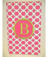 Pink Circles Notebook Refillable Book 9