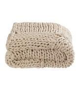 Throw rug kas braided natural hand knitted thro... - €109,57 EUR